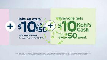 Kohl's 50 Percent Off Sale TV Spot, 'Stack the Savings' - Thumbnail 6