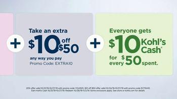 Kohl's 50 Percent Off Sale TV Spot, 'Stack the Savings' - Thumbnail 7