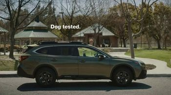 2020 Subaru Outback TV Spot, 'Dog Tested: No Pets Allowed' [T1] - Thumbnail 9