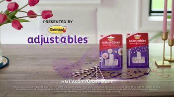 Command Adjustables TV Spot, '2019 HGTV Urban Oasis Giveaway: Damage-Free' - Thumbnail 8