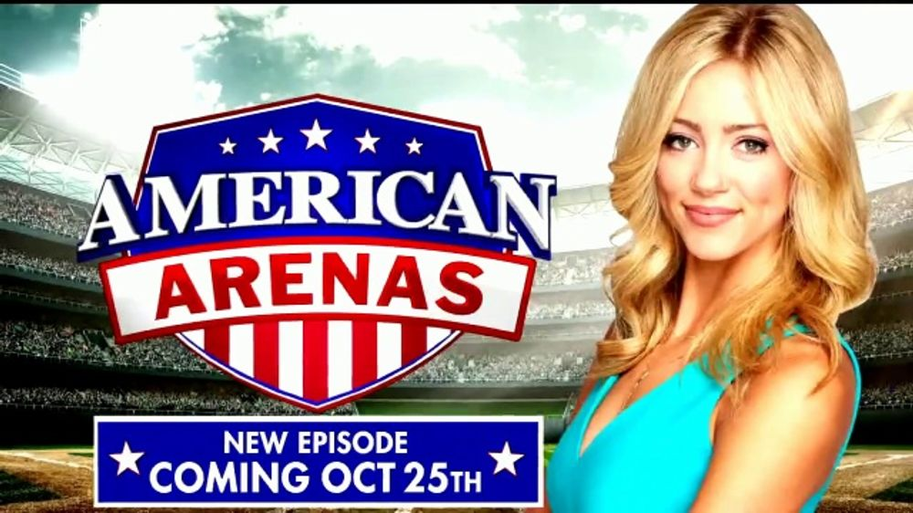 FOX Nation TV Commercial, 'American Arenas'