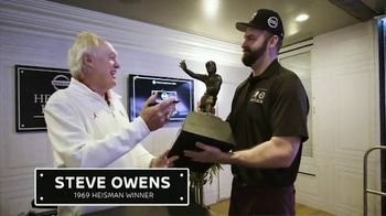 Nissan TV Spot, 'Heisman House: Homecoming' Featuring Mike Golic Jr. and Steve Owens [T1] - Thumbnail 5