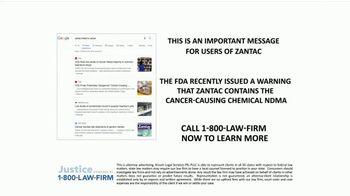 1-800-LAW-FIRM TV Spot, 'Zantac' - Thumbnail 2