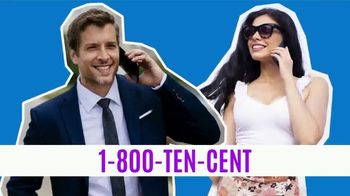 1-800-TEN-CENT TV Spot, 'Chat, Mingle or Find a Single' - Thumbnail 7