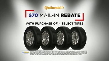 National Tire & Battery Big Brands Bonus Month TV Spot, 'Continental Tires Rebate and Oil Change' - Thumbnail 4