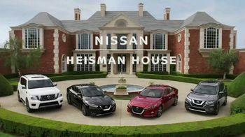 Nissan TV Spot, 'Heisman House: Remote Engine Start' Featuring Derrick Henry [T1] - Thumbnail 1