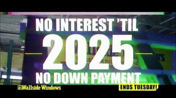Wallside Windows TV Spot, 'Get More: Half Off'