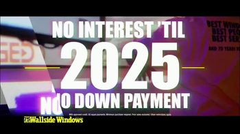 Wallside Windows TV Spot, 'Get More: Half Off' - Thumbnail 1