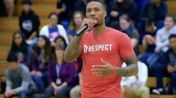 NBA Cares TV Spot, 'Respect' Featuring Damian Lillard
