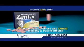 Chaffin Luhana TV Spot, 'Zantac Users' - Thumbnail 1