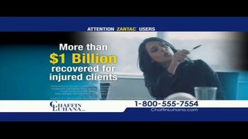Chaffin Luhana TV Spot, 'Zantac Users'