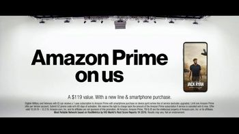 Verizon TV Spot, 'Military Offer: Amazon Prime'