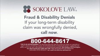Sokolove Law TV Spot, 'Fraud and Disability Denials' - Thumbnail 7