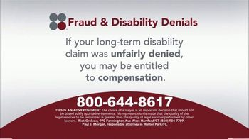 Sokolove Law TV Spot, 'Fraud and Disability Denials' - Thumbnail 5