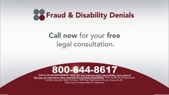Sokolove Law TV Spot, 'Fraud and Disability Denials' - Thumbnail 6