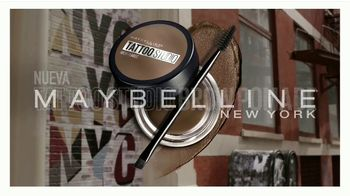 Maybelline New York Tattoo Studio Brow Pomade TV Spot, 'Cejas esculpidas' [Spanish] - Thumbnail 8