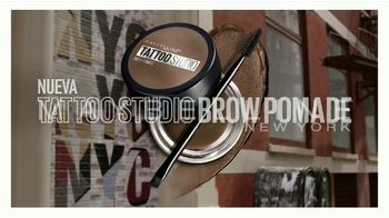 Maybelline New York Tattoo Studio Brow Pomade TV Spot, 'Cejas esculpidas' [Spanish] - Thumbnail 4