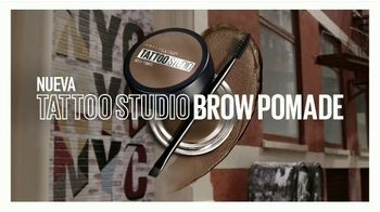 Maybelline New York Tattoo Studio Brow Pomade TV Spot, 'Cejas esculpidas' [Spanish] - Thumbnail 7