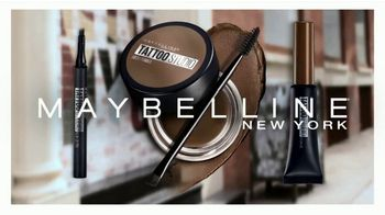 Maybelline Tattoo Studio Brow Pomade TV Spot, 'The New Sculpted Brow' - Thumbnail 10