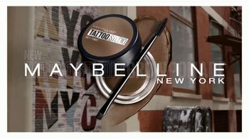 Maybelline Tattoo Studio Brow Pomade TV Spot, 'The New Sculpted Brow' - Thumbnail 4
