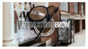 Maybelline Tattoo Studio Brow Pomade TV Spot, 'The New Sculpted Brow' - Thumbnail 9