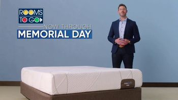 Rooms to Go Memorial Day Sale TV Spot, 'Free Adjustable Base' Featuring Jesse Palmer - Thumbnail 1