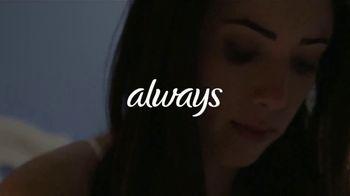 Always Maxi Overnight Pads TV Spot, 'Dormir bien' [Spanish] - Thumbnail 1