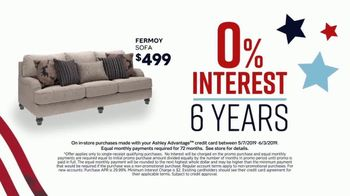 Ashley HomeStore Memorial Day Sale TV Spot, 'Summer's Hottest Deals: Panel Beds & Sofas' Song by Midnight Riot - Thumbnail 4