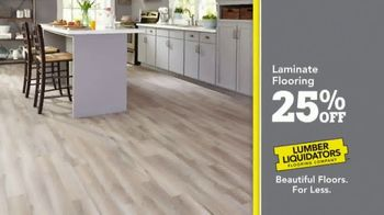 Lumber Liquidators TV Spot, 'Celebrate 25 Years: Laminate' - Thumbnail 4