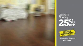 Lumber Liquidators TV Spot, 'Celebrate 25 Years: Laminate' - Thumbnail 5