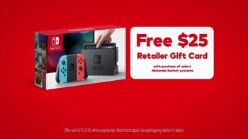 Nintendo Switch TV Spot, 'Pokémon: Let's Go, Pikachu!: Retailer Gift Card' - Thumbnail 9