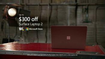 Microsoft Surface TV Spot, 'Taylor Church: $300 Off' - Thumbnail 10