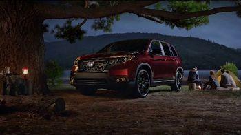 2019 Honda Passport TV Spot, 'Built For Campouts' [T1] - Thumbnail 2
