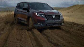 2019 Honda Passport TV Spot, 'Built For Campouts' [T1] - 3 commercial airings