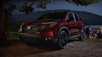 2019 Honda Passport TV Spot, 'Built For Campouts' [T1] - Thumbnail 9