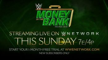 WWE Network TV Spot, '2019 Money in the Bank' Ft. Seth Rollins, Alexa Bliss, Sheamus, Daniel Bryan - Thumbnail 7