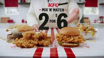 KFC Mix 'N' Match TV Spot, 'Un par sabroso' [Spanish]