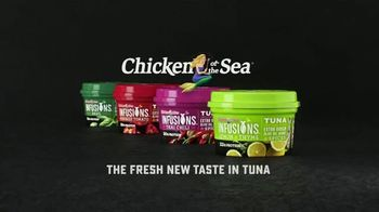 Chicken of the Sea Infusions TV Spot, 'The Fresh New Taste in Tuna'