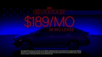 Honda Memorial Day Sales Event TV Spot, 'Iconic Statement' [T2] - Thumbnail 8