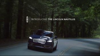 Lincoln Spring Sales Event TV Spot, 'Nautilus' Featuring Matthew McConaughey [T2]