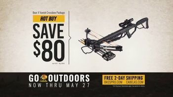 Bass Pro Shops Go Outdoors Event and Sale TV Spot, 'HD Game Camera & Crossbow Package' - Thumbnail 7