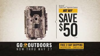 Bass Pro Shops Go Outdoors Event and Sale TV Spot, 'HD Game Camera & Crossbow Package' - Thumbnail 6
