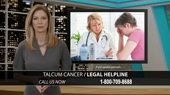Talcum Cancer Legal Helpline TV Spot, 'Regular Use' - Thumbnail 1