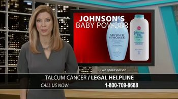 Talcum Cancer Legal Helpline TV Spot, 'Regular Use'