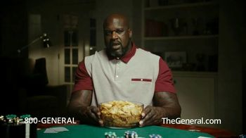 The General TV Spot, 'All My Chips' Featuring Shaquille O'Neal - 19274 commercial airings