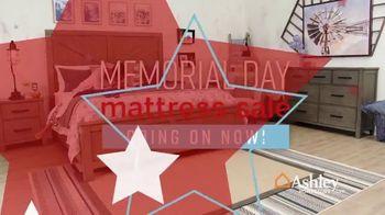 Ashley HomeStore Memorial Day Mattress Sale TV Spot, 'Adjustable Sets' Song by Midnight Riot