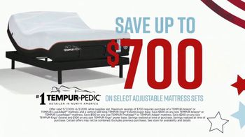 Ashley HomeStore Memorial Day Mattress Sale TV Spot, 'Adjustable Sets' Song by Midnight Riot - Thumbnail 3