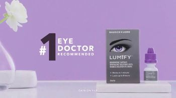 Lumify Eye Drops TV Spot, 'Something Amazing' - Thumbnail 9