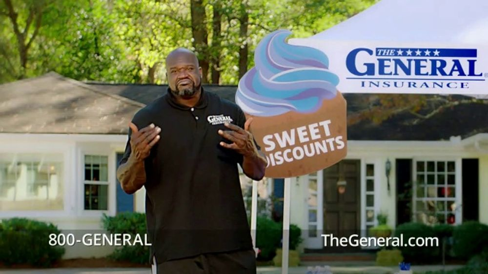 The General TV Commercial, 'Dance Off' Featuring Shaquille O'Neal