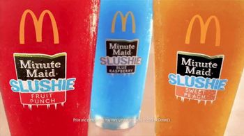 McDonald's Minute Maid Slushies TV Spot, 'Turn up Summer: $1.39' - Thumbnail 9